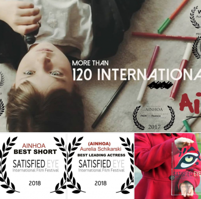 """AINHOA"" TRIUNFA EN EL ""SATISFIED EYE INTERNATIONAL FILM FESTIVAL 2018"" EN REINO UNIDO!"