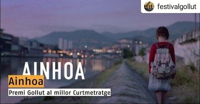 "!""AINHOA"" PREMIO GOLLUT 2018 AL MEJOR CORTOMETRAJE EN GERONA!"